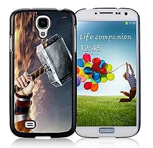 Galaxy S4 Case,Thors Hammer Black For Samsung Galaxy S4 i9500 Case