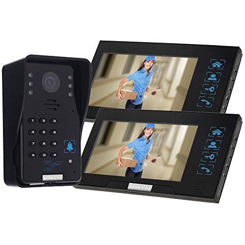 """Docooler 7"""" Video Door Phone Intercome Doorbell Touch But..."""