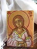 Saint Agnes of Rome mini orthodox catholic byzantine art