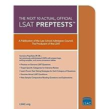 10 Next, Actual Official LSAT PrepTests: (PrepTests 29–38)