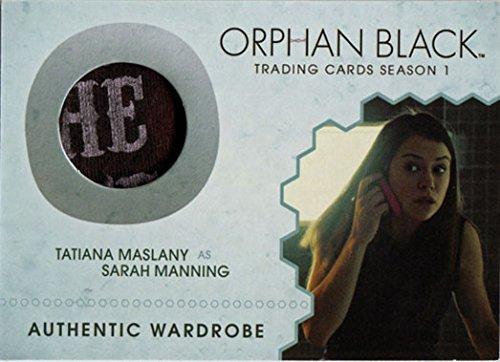 Orphan Black Season 1 M13 Costume Wardrobe Card Tatiana Maslany as Sarah Variant