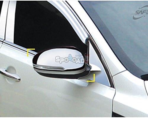 2011 2012 Sportage R Chrome Side Mirror Cover moulding Exterior trim K-341