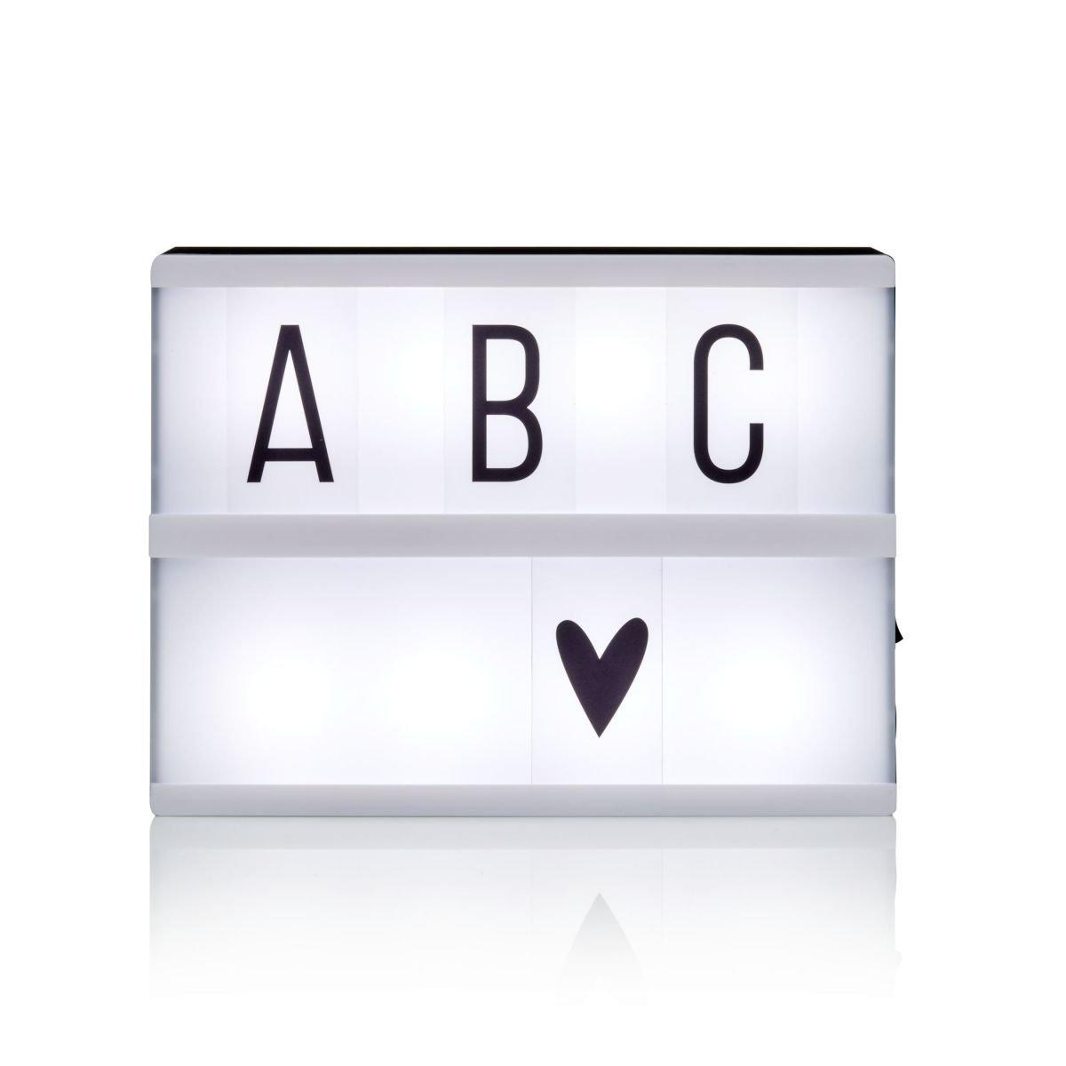 A Little Lovely Company A4–Scatola di Luce 30 x 22 x 6cm Menta 077-016