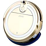 JISIWEI i3 Vacuum Cleaning Robot with Built-in HD Camera APP Remote Control for Android and iOS Smartphone (Golden)