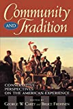 img - for Community and Tradition book / textbook / text book