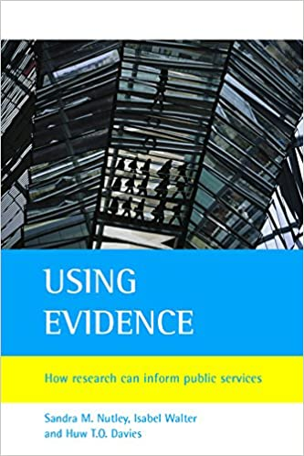 How Research Can Inform Public Services Using Evidence