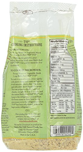 Bob's Red Mill, Texturized Vegetable Protein, 10 oz by Bob's Red Mill (Image #4)