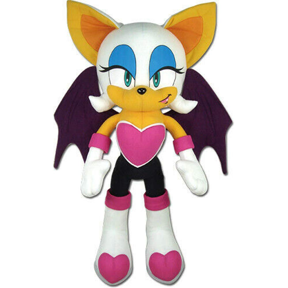 Great Eastern GE-52629 Sonic The Hedgehog Large 21'' Rouge The Bat Plush by Great Eastern Entertainment