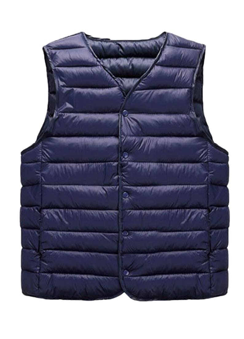 Alion Mens Down Vests Packable Lightweight Coats Puffer Vests