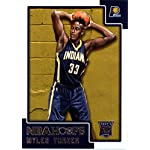 0342cc91130d Myles Turner Indiana Pacers Signed Autographed White  33 Jersey JSA ...