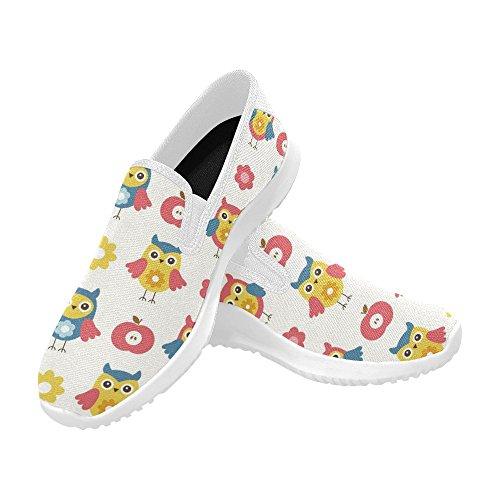 InterestPrint Cute Baby Pattern Womens Slip-On Loafer Shoes Canvas Fashion Sneakers Multi 1 laHBiXbqPv