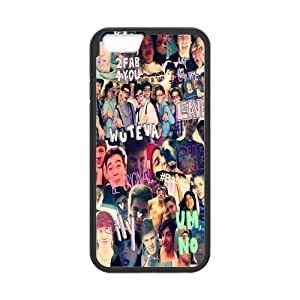 Onshop Custom Magcon Boys Collage Phone Case Laser Technology for iphone5/5s 4.7 Inch