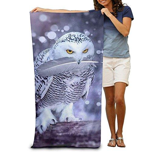 Cute Owl Adults Beach Bath Towel (Bath Towels Owl)