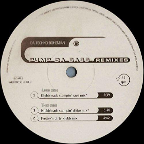 Pump da bass-Remixes (Klubbheads Stompin' Rave, 1997) / Vinyl Maxi Single [Vinyl - Stompin Bass