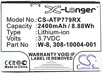 NETGEAR AC779S Cameron Sino 2400mAh Batería para AT/&T AirCard 779S BoostMobile