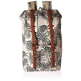 "Herschel Supply Co. Little America Flapover Backpack 6 Shoulder strap length: 32"" Small exterior pocket"