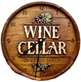 Wine Cellar Wall Clock