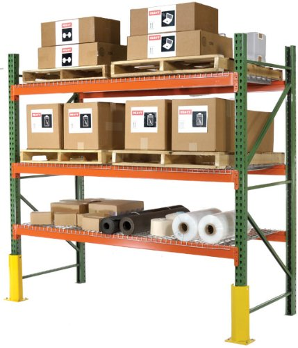 Husky-Invincible-Pallet-Rack-Without-Wire-Decking-108X42x120-43H-Beams-Starter
