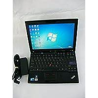 Lenovo ThinkPad X201 3626F2U 12.1-Inch Notebook (2.5 GHz Intel Core i5-540m Processor, 4GB DDR3, 320GB HDD, Windows 7 Professional) Black