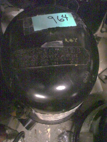 Scroll Compressor Refrigeration (Compressor Tecumseh AH5524E 230/208 - 3 -)