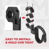 UTV Gun Holder, kemimoto Roll Bar Ski Rack Bow Rack