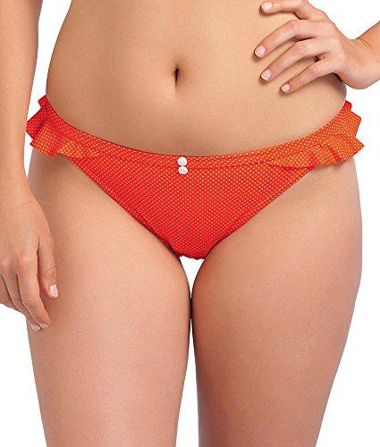 Badeanzug-Frau Freya Rio Cherish orange Knickers