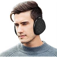 Dimples Excel Unisex Knit Ear Muffs Foldable Ear Warmers Winter Outdoor Earmuffs Size Adjustable