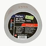 Shurtape AF-100 Aluminum Foil Tape: 2-1/2 in. x 60 yds. (Silver Printed)