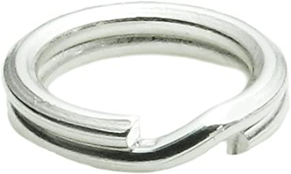 6 X 4 mm oval rings with crimp 10 X 6 mm Sterling Silver Lok ring Non solder.