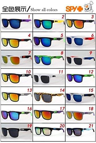 5ddf940040a Men s Womens Spy Helm Eyewear Retro Personalized Sunglasses Spy 1-5