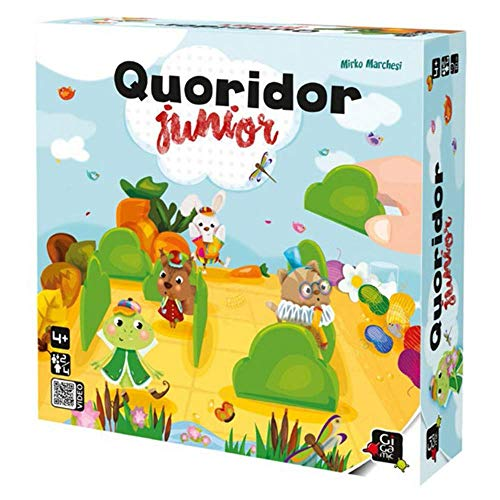 GIGAMIC Quoridor Junior Toy, Blue