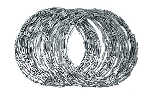 Razor Wire - CBT 65-33 Loops by Bobco Metals -