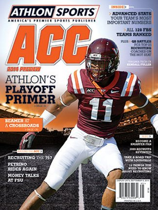Athlon Sports 2014 College Football ACC Preview Magazine