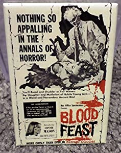 Blood Feast Movie Poster 2 x 3 Refrigerator Locker MAGNET