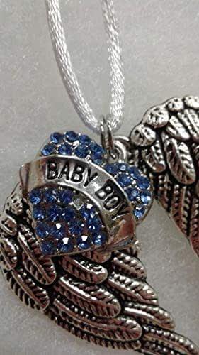 Amazon.com: Baby Boy Infant Memorial Guardian Angel Wings