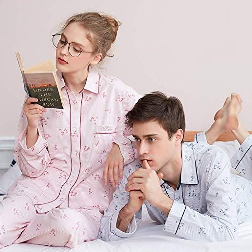 El Para Blanco Mujer Piezas Cómodo Conjunto Moda Primavera Noche 2 Otoño Set De Hogar Pijama Pijamas Mujeres Clásico Larga Pantalones Manga Anchas Ropa Estampadas Elegantes UXqxUSwHn