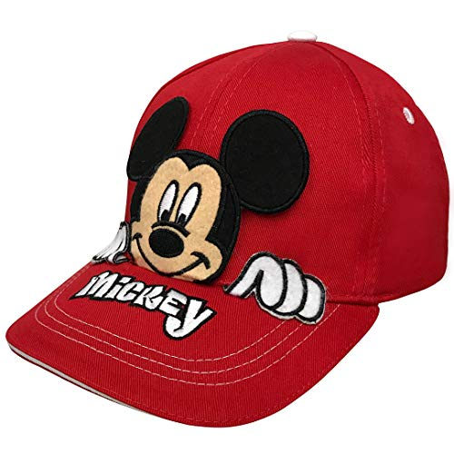 Disney Mickey Mouse Boys Peek-A-Boo Baseball Cap Age 4-7 - 100% Cotton ()