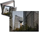 Photo Jigsaw Puzzle of China, Beijing, Gleaming glass and steel skyscrapers and CCTV Headquarters