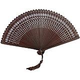 Chinoiserie Classical Bamboo Fan Hand Fan Beautiful Folding Fan Handheld Fan #05
