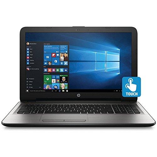 HP 15.6 Inch Premium Flagship Touchscreen Laptop Computer (Intel Core i3-6100U 2.3GHZ, 8GB RAM, 1TB Hard Drive, DVD/CD Drive, HD Webcam, Windows 10 Home) (Certified Refurbished)
