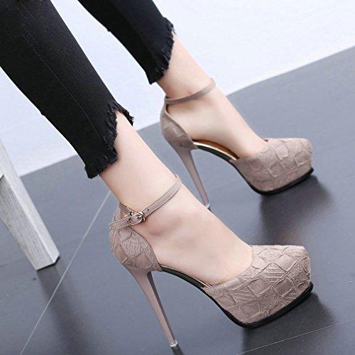 Frauen High Heels Sexy Mode Sandalen L C Y RpnWZExX