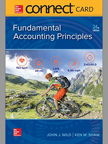 Connect Access Card for Fundamental Accounting Principles