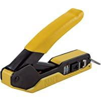 Klein Tools Compact Pass-Thru Modular Crimper VDV226-005 Yellow/Black