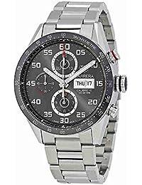 Carrera Anthracite Dial Mens Chronograph Watch CV2A1U.BA0738