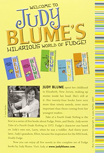 The 8 best fudge books by judy blume