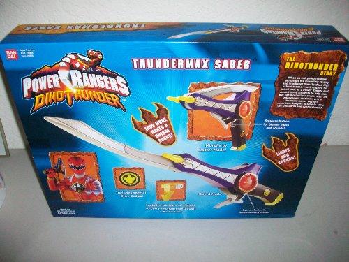 Power Rangers Dino Thunder Thundermax Saber Weapon 2004 MISB MIB NEW Bandai