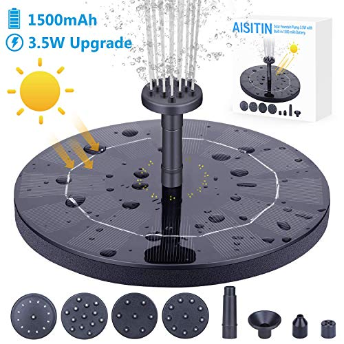 AISITIN 3.5W Solar Fountain