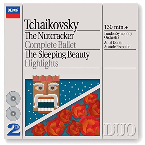 CD : Anatole Fistoulari - Nutcraker /  Sleeping Beauty (Highlights, Complete)