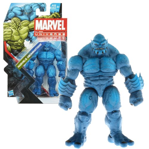 Hasbro Year 2013 Marvel Universe Series 5 Single Pack 5 Inch Tall Action Figure Set #019 - MARVEL'S ABOMINATION Variant Blue A-BOMB