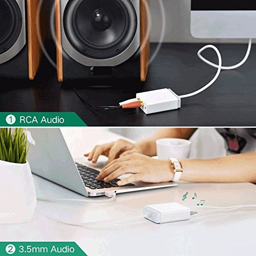 Asdf Free USB External Stereo Sound Card Audio Adapter With and 2RCA Converter by Asdf (Image #5)